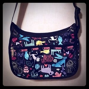 Lesportsac crossbody bag in Animal print